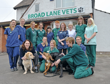 PRESS RELEASE: PIONEERING VETERINARY PRACTICE NAMED AS UK'S MOST FLEXIBLE SMALL BUSINESS